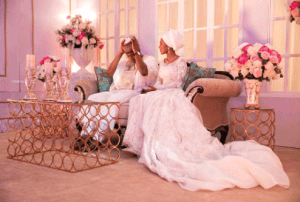 Zahra Buhari changes her name on social media, celebrates one month in marriage